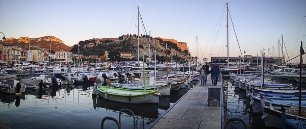 Walking the Oceanfront Restaurants of Cassis