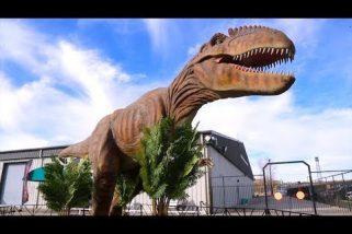 Jurassic Beasts Come to Farmington