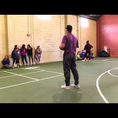Fitness Camp Exposes Kids to College Athletics