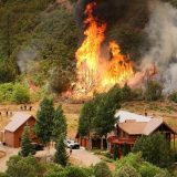 Firefighters use burnouts to outsmart 416 Fire
