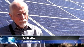Solar Barn Raising Cuts Costs