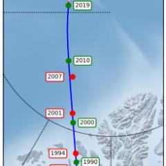 Earth's Magnetic North Pole Has Begun Racing Towards Siberia