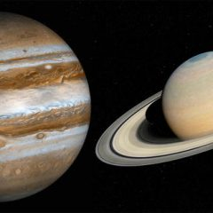 JUPITER & SATURN will form the first double planet in 800 years…