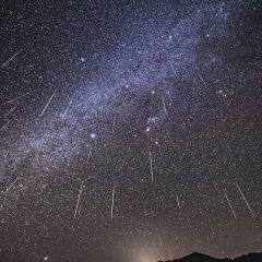 Annual Geminid meteor shower