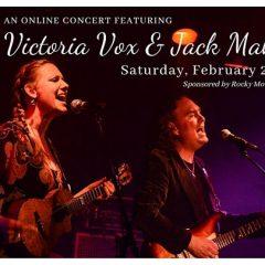 An Online Concert with Victoria Vox & Jack Maher