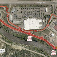 LPEA begins Bodo Park line improvement project; reroutes traffic on Animas River Trail